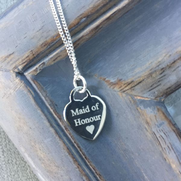 Bridesmaid's  gift - FREE engraving